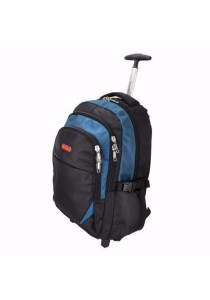 Slazenger SZ1095-L Backpack Bag with Trolley Large (Blue)