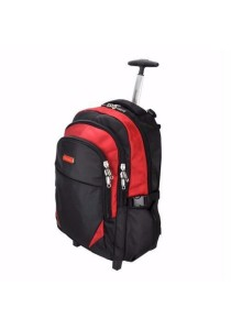Slazenger SZ1095-L Backpack Bag with Trolley Large (Red)