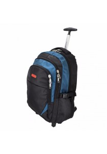 Slazenger SZ1095-S Backpack Bag with Trolley (Blue)
