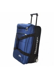 "Slazenger SZ1096 22"" Rolling Duffle Bag with Trolley (Blue)"