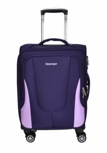 "Slazenger SZ1107 Expandable Soft Spinner Case Luggage 28"" (Purple/Light Purple)"