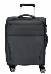 Slazenger SZ1108 Expandable Soft Spinner Case Luggage 18-inch (Dark Grey)