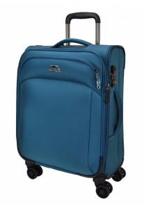 Slazenger SZ1109 Expandable Soft Spinner Case Luggage 24-inch (Blue)