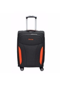 "Slazenger SZ1111 Soft Spinner Case Expandable Luggage 20"" (Grey-Orange)"