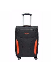 "Slazenger SZ1111 Soft Spinner Case Expandable Luggage 29"" (Grey-Orange)"