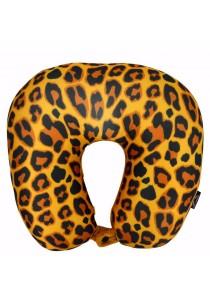 Slazenger SZ7103 3-in-1 Microbead Neck Pillow Leopard