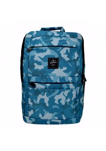 Yupama Camo Squad Series Backpack (Cyan Blue)