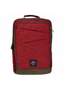Yupama Structured Sidekick Series Backpack (Ruby Red)