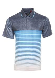 Dye Sublimation Polo T Shirt TW 02 (Blue Misty)