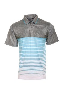 Dye Sublimation Polo T Shirt TW 03 (Grey Misty)