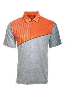 Dye Sublimation Polo T Shirt TW 04 (Orange Misty)