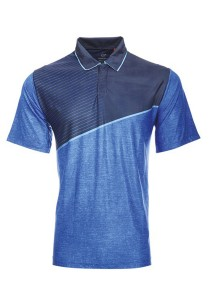 Dye Sublimation Polo T Shirt TW 05 (Navy)