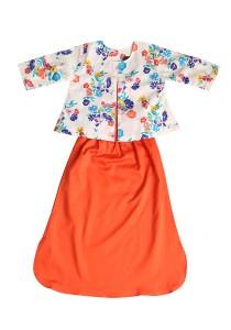 Textilisbaby Armani 2.0 Orange (1-2yr)