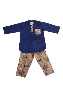 Textilisbaby Syawal 2.0 Navy Blue (3-4yr)