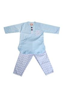 Textilisbaby Syawal 2.0 Baby Blue (3-4yr)