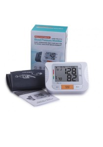 Blood Pressure Monitor With Large LCD Screen