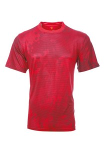 Dye Sublimation Jersey UA 02 (Red)