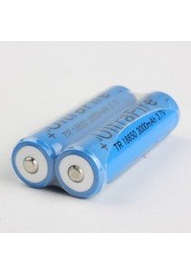Ultrafire TR18650 3000mAh 3.7V Rechargeable Li-Ion Battery - 1 Pair