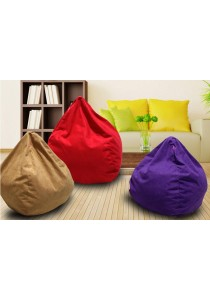 Amazing Five Stars Japanese Style Plain Canvas Bean Bag
