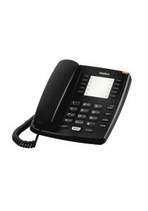Uniden Basic Single Line Corded Phone AS7201 - Black
