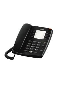 Uniden Basic Single line Corded Speaker Phone AS7301 - Black