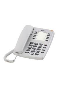 Uniden Basic Single Line Corded Speaker Phone AS7301 - White