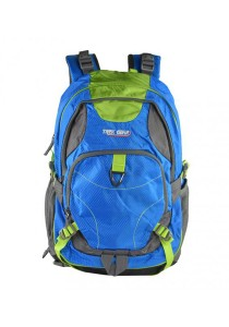 Trek Gear Outdoor Backpack with Laptop Compartment - TBP620 Blue