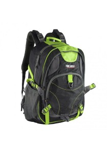 Trek Gear Outdoor Backpack with Laptop Compartment - TBP620 Black