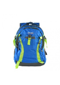 Trek Gear Outdoor Backpack with Laptop Compartment - TBP622 Blue