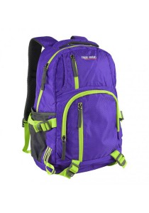 Trek Gear Outdoor Backpack with Laptop Compartment - TBP623 Purple