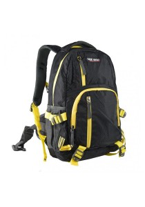 Trek Gear Outdoor Backpack with Laptop Compartment - TBP623 Black