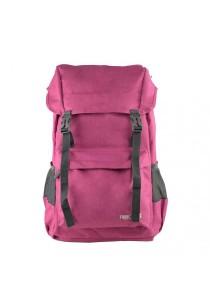 Trek Gear Casual Korean Style Fashion Laptop Backpack - TBP627 - Rose