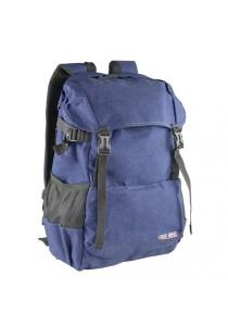 Trek Gear Casual Korean Style Laptop Backpack - TBP628 Blue