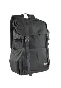 Trek Gear Casual Korean Style Laptop Backpack - TBP628 Black