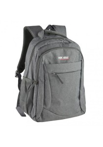 Trek Gear Casual Korean Style Fashion Laptop Backpack - TBP629 Grey