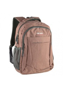 Trek Gear Casual Korean Style Fashion Laptop Backpack - TBP629 - Brown