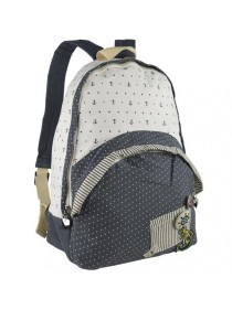 Royal McQueen Korean Stylish Casual Backpack QBP648 Blue