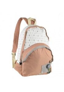 Royal McQueen Korean Stylish Casual Backpack QBP649 Pink