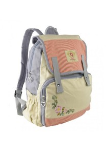 Royal McQueen Korean Stylish Casual Backpack QBP650 Pink