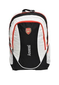 Arsenal Black / White Team 15-inch Laptop Backpack - ARS013