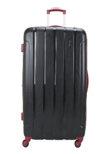 "Royal McQueen 4-Wheel Spinnner 28"" Hard Case Luggage QTH6907 Black"