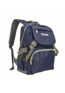 Trek Gear Casual Backpack - TBP603 Blue