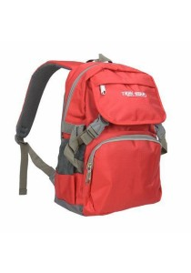 Trek Gear Casual Backpack - TBP603 Red
