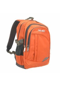 Trek Gear Outdoor Backpack with Laptop Compartment - TBP604 Orange