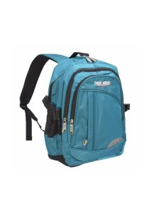 Trek Gear Outdoor Backpack with Laptop Compartment - TBP604 Turquoise