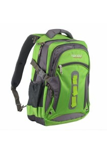 Trek Gear Outdoor Backpack with Laptop Compartment - TBP605 Green