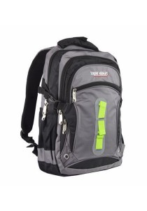 Trek Gear Outdoor Backpack with Laptop Compartment - TBP605 Grey