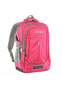 Trek Gear Outdoor Backpack with Laptop Compartment - TBP607 Pink