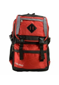 Trek Gear Outdoor Backpack with Laptop Compartment - TBP608 Black