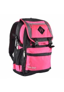Trek Gear Outdoor Backpack with Laptop Compartment - TBP608 Pink